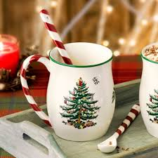 Spode Christmas Tree Glasses Uk by Sinclairs Collectables Tableware Glassware Cutlery And More