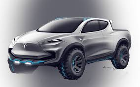 100 Ford Truck Concept Tesla Pickup Rendered As F150 Raptor Competitor