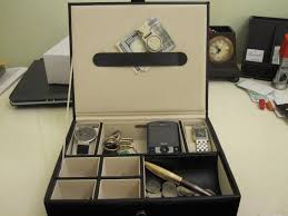 Dresser Valet Watch Box by How To Make A Valet Tray Ebay