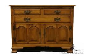 CUSHMAN Colonial 46 Maple Buffet Console Cabinet 21 3102