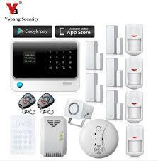 yobang security wifi home safety alarm gprs alarme maison sans fil