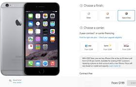 iPhone 6 pre order time in USA UK