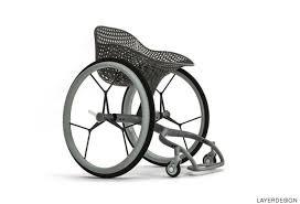 chaise roulante en anglais ce fauteuil roulant sur mesure est imprimé en 3d photos
