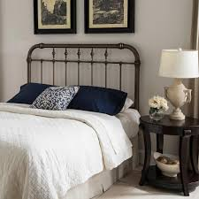 Spindle Headboard And Footboard by Fashion Bed Group Vienna Queen Size Headboard With Metal Spindle