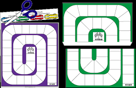 How To Make DIY Racetrack Board Game