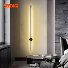 led wand le lange wand licht decor für home schlafzimmer