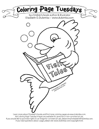 Swim By Your Local Library To Find The Best Fish Tales Ever Be Sure Share Creations In My Coloring Page Tuesday GALLERY At Dulemba