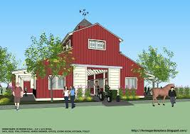 Barn With Living Quarters Floor Plans by Large Barn U2013 Barn Plans Vip