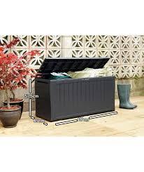 Plastic Garden Storage Bench Seat by Die Besten 25 Plastic Garden Storage Box Ideen Auf Pinterest