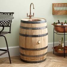 Bar Sink by Embden Whiskey Barrel Bar Sink Extra Deep Copper Sink Kitchen
