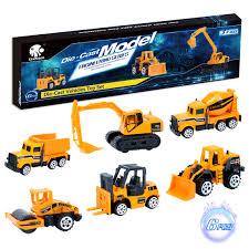 100 Toy Cement Truck Elongdi DieCast Construction S Set Excavator Vehicles Dump
