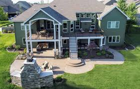 100 House Patio An Urbandale Home Gets A Distinguished Deck And Patio By
