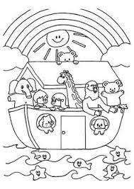 Top 10 Noah And The Ark Coloring Pages Your Toddler Will Love