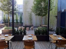 landscape design for restaurant