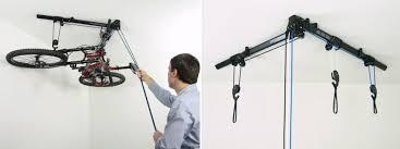 ceiling bike hoist and mount
