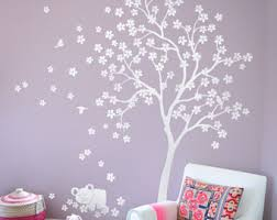 Tree Wall Decor With Pictures by Beautiful Tree Wall Decals And Other Nursery Wall By Wallconsilia