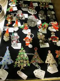 Vintage Christmas Tree Brooches For Sale At The Antiques Centre York
