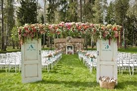 Book Themed Wedding Backdrop To Inspire
