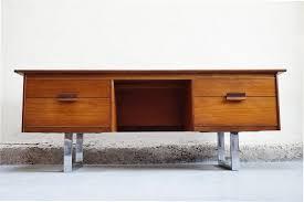 bureau annee 50 meuble bas scandinave bureau tele teck annees 50 60 70 vintage
