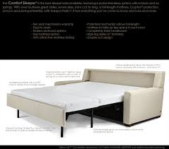 Tempurpedic Sleeper Sofa American Leather by American Leather Comfort Sleepers Collectic Home