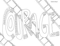 Coloring Page Word Coloring Pages Swear Adult Gfy Small Page
