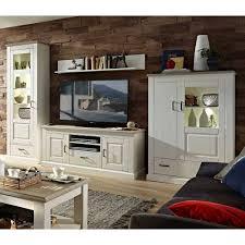 wohnzimmer schrankwand rozasa im skandinavischen design 4 teilig