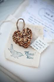 DIY Project Birdseed Favors