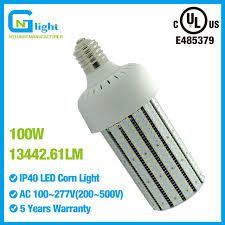 480volt 100watt led corn bulb l e39 replace 400w metal halide