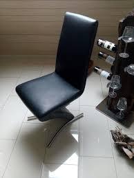 4er set freischwinger schwarz schwingstuhl z stuhl esszimmer