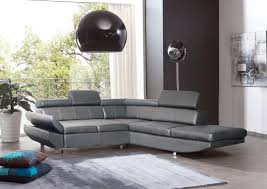 canapé angle gris convertible deco in canape d angle design convertible gris luca luca