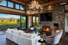 100 Mountain Home Architects Family Retreat Blends Modernrustic With Rocky Views