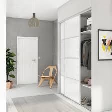 placard porte de placard coulissante à composer spaceo à peindre