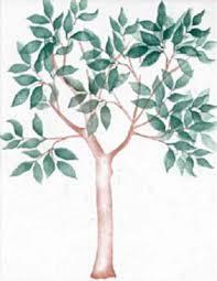 Stencil Life Sized Tree 400