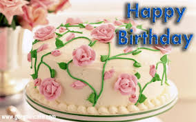 Happy Birthday Wishes Flowers And Cakes