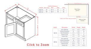 Blind Corner Base Cabinet by Rta Charleston Antique White Stylish Kitchen Cabinets