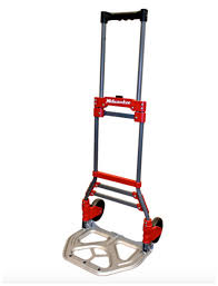 MILWAUKEE STEEL FOLDING Hand Truck Moving Dolly Cart Wheels Heavy ...