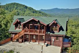 4 Bedroom Cabins In Pigeon Forge by 7 Bedroom Bedrooms Smoky Mountain Cabin Rentals
