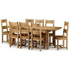 100 Oak Table 6 Chairs Dining Room Table With Solid Dining Set Round