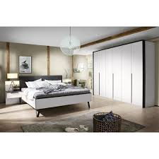 vito schlafzimmer set lengo alpinweiß graphitgrau