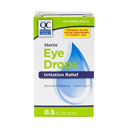Quality Choice QC Eye Drops (VISINE) 0.5oz