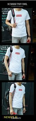 Supreme Fashion Leisure Cotton T Shirt
