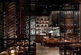 Unique Asian Restaurant Interior Design And Decoration Luxury Modern Style Small