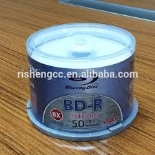 RISHENG Blank Vinyl Cd R Hard Disk 52X Color With Printing Wholesale