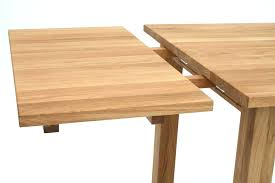 Dining Table With Extension Interior Slides Popular Regard To 8 From