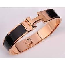 brandnew hermes clic clac pm black gold size s ราคา