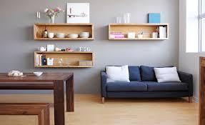 wall mounted box shelves u2013 a trendy variation on open shelves