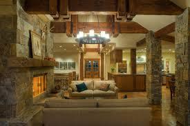 mountain modern rustikal wohnzimmer seattle