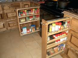 How To Make Spice Racks For Kitchen Cabinets Spice Storage Spice