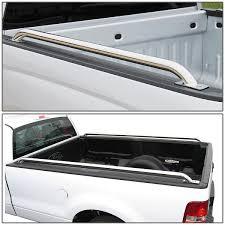 100 Truck Bed Bar DNA Motoring Pair Of Stainless Steel Chrome Side Rail 99