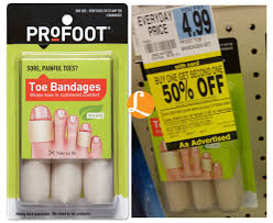 Rite Aid Christmas Tree Stand by Profoot Toe Bandages Just 0 75 At Rite Aid Living Rich With Coupons